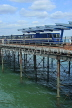 UK, Essex, Southend-On-Sea, Southend Pier, and train, UK6880JPL