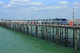 UK, Essex, Southend-On-Sea, Southend Pier, and train, UK6881JPL