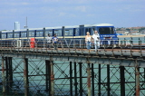 UK, Essex, Southend-On-Sea, Southend Pier, and train, UK6882JPL