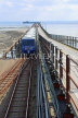 UK, Essex, Southend-On-Sea, Southend Pier, and train, UK6892JPL