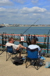 UK, Essex, Southend-On-Sea, Southend Pier, anglers, UK6866JPL