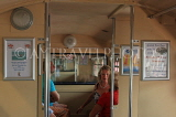 UK, Essex, Southend-On-Sea, Southend Pier, train interior, UK6893JPL