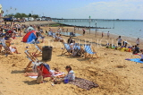 UK, Essex, Southend-On-Sea, Three Shells Beach, holidaymakers, children, UK6806JPL