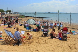 UK, Essex, Southend-On-Sea, Three Shells Beach, holidaymakers, families, UK6805JPL