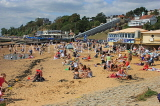 UK, Essex, Southend-On-Sea, Three Shells Beach, holidaymakers, families, UK6809JPL