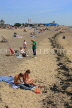 UK, Essex, Southend-On-Sea, coast and beach, sunbathers, UK6793JPL