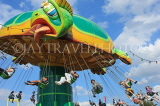 UK, Essex, Southend-On-Sea, fun fair, Archelon Turtle Ride, UK6839JPL
