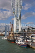 UK, Hampshire, PORTSMOUTH, Gunwharf Quays and Spinnaker Tower, UK6645JPL