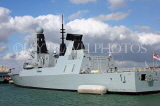 UK, Hampshire, PORTSMOUTH, HMS Daring destroyer in harbour, UK6658JPL