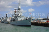 UK, Hampshire, PORTSMOUTH, HMS Liverpool destroyer in harbour, UK6657JPL