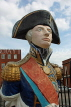 UK, Hampshire, PORTSMOUTH, Historic Dockyard, Admiral Nelson figurehead, UK6577JPL
