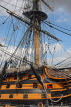 UK, Hampshire, PORTSMOUTH, Historic Dockyard, HMS Victory, UK6569JPL