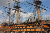 UK, Hampshire, PORTSMOUTH, Historic Dockyard, HMS Victory, UK6570JPL