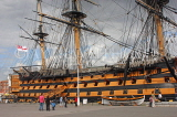 UK, Hampshire, PORTSMOUTH, Historic Dockyard, HMS Victory, UK6632JPL