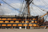UK, Hampshire, PORTSMOUTH, Historic Dockyard, HMS Victory, UK6634JPL