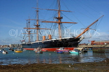 UK, Hampshire, PORTSMOUTH, Historic Dockyard, HMS Warrior, UK6500JPL