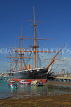 UK, Hampshire, PORTSMOUTH, Historic Dockyard, HMS Warrior, UK6510JPL