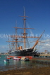 UK, Hampshire, PORTSMOUTH, Historic Dockyard, HMS Warrior, UK6511JPL