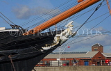 UK, Hampshire, PORTSMOUTH, Historic Dockyard, HMS Warrior, UK6513JPL