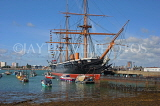 UK, Hampshire, PORTSMOUTH, Historic Dockyard, HMS Warrior, UK6515JPL