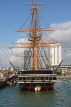 UK, Hampshire, PORTSMOUTH, Historic Dockyard, HMS Warrior, UK6579JPL