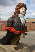 UK, Hampshire, PORTSMOUTH, Historic Dockyard, figurehead of HMS Benbow, UK6576JPL