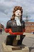 UK, Hampshire, PORTSMOUTH, Historic Dockyard, figurehead of HMS Benbow, UK6673JPL