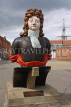 UK, Hampshire, PORTSMOUTH, Historic Dockyard, figurehead of HMS Benbow, UK6679JPL