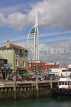 UK, Hampshire, PORTSMOUTH, Spinnaker Tower and harbour boats, UK6543JPL