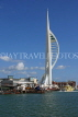 UK, Hampshire, PORTSMOUTH, Spinnaker Tower and waterfront, UK6538JPL