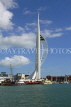 UK, Hampshire, PORTSMOUTH, Spinnaker Tower and waterfront, UK6641JPL