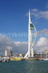 UK, Hampshire, PORTSMOUTH, Spinnaker Tower and waterfront, UK6642JPL