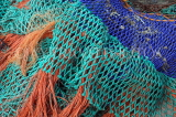 UK, Hampshire, PORTSMOUTH, harbour, fishing nets, UK6557JPL
