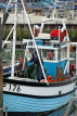 UK, Hampshire, PORTSMOUTH, harbour and fishing boat, UK6554JPL