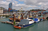 UK, Hampshire, PORTSMOUTH, harbour and fishing boats, UK6552JPL