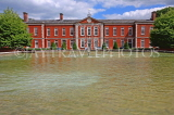 UK, Hampshire, WINCHESTER, Peninsula Barracks and fountain, UK8098JPL