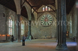 UK, Hampshire, WINCHESTER, The Great Hall, and King Arthur's Round Table, UK8094JPL
