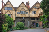 UK, Hampshire, WINCHESTER, Winchester Cathedral, Cheyney Court, timber framed buildings, UK7990JPL