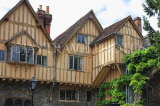 UK, Hampshire, WINCHESTER, Winchester Cathedral, Cheyney Court, timber framed buildings, UK8011JPL