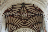 UK, Hampshire, WINCHESTER, Winchester Cathedral, elaborate ceiling detail, UK8053JPL