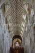 UK, Hampshire, WINCHESTER, Winchester Cathedral, elaborate nave ceiling, UK8022JPL