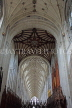 UK, Hampshire, WINCHESTER, Winchester Cathedral, elaborate nave ceiling, UK8054JPL