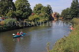 UK, Kent, TONBRIDGE, River Medway and kayaking, UK13233JPL