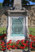 UK, Kent, TONBRIDGE, Riverside, Boer War Memorial, by the castle, UK13259JPL
