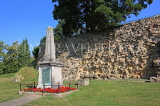 UK, Kent, TONBRIDGE, Riverside, Boer War Memorial, by the castle walls, UK13261JPL