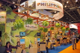 UK, LONDON, ExCel Centre, World Travel Market show, Philippines stand, UK31130JPL