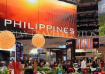 UK, LONDON, ExCel Centre, World Travel Market show, Philippines stand, UK31267JPL