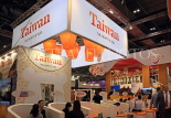 UK, LONDON, ExCel Centre, World Travel Market show, Taiwan stand, UK31198JPL