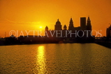 UK, Lancashire, LIVERPOOL, sunrise over Liver buildings, UK5519JPL