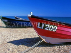 UK, Sussex, BOGNOR REGIS, boats on beach, UK5531JPL
